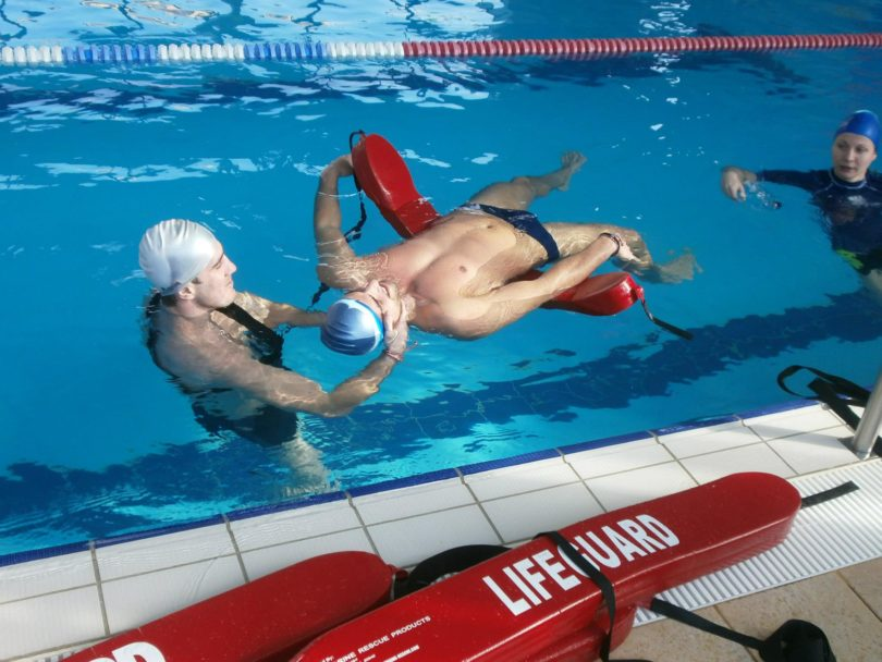 Start job as lifeguard - Бригада за спасители в САЩ