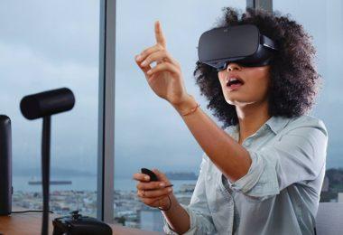 Виртуална реалност на работно място